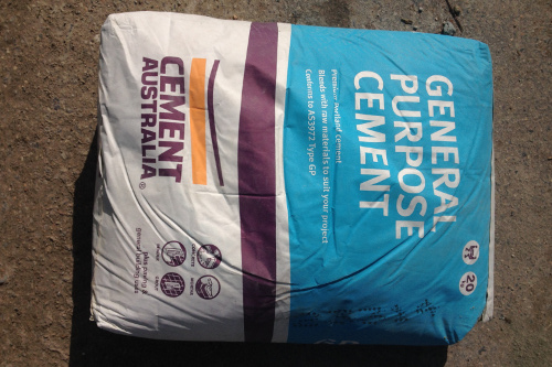 premixed concrete