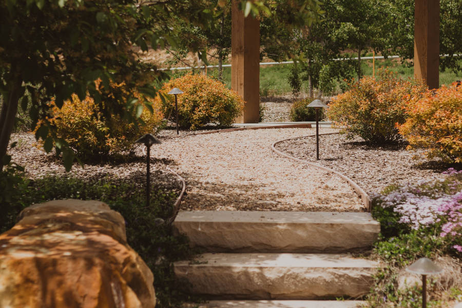 How To Make A River Rock Path