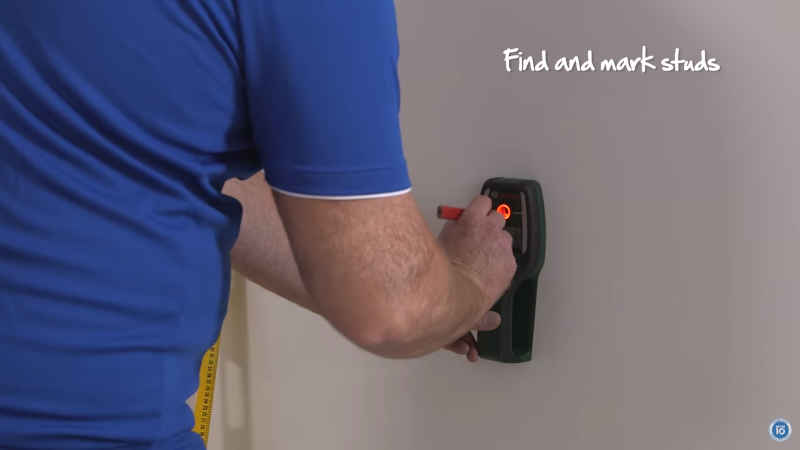 How to find studs in a wall